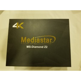 MediaStar Diamond Z2 Ultra HD UHD 4K Android Satellite Receiver